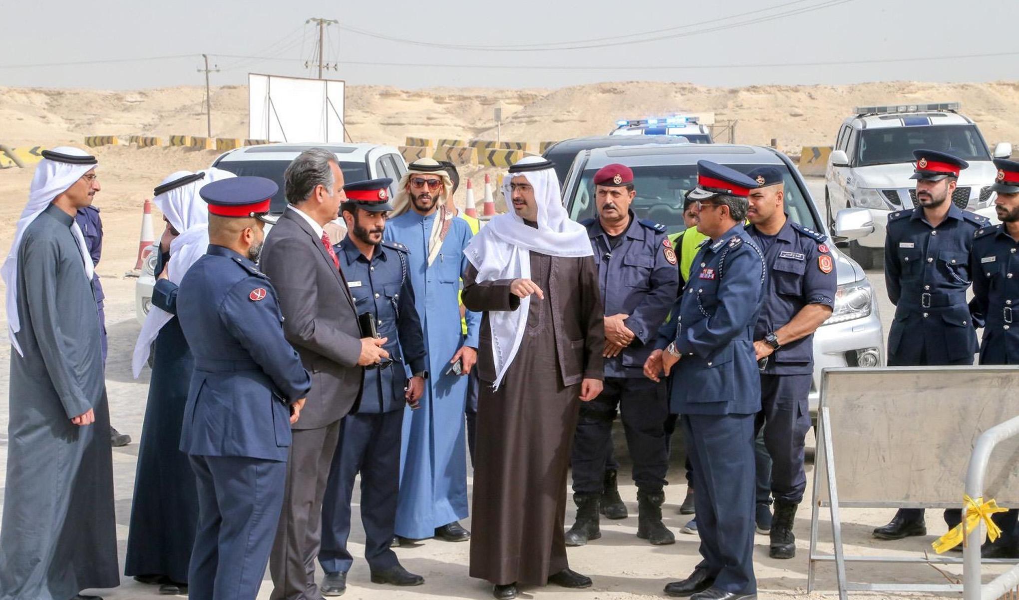 سمو المحافظ يقوم بزيارة إلى مركز خدمات المخيمين ومتابعة شؤون البر بمنطقة الصخير