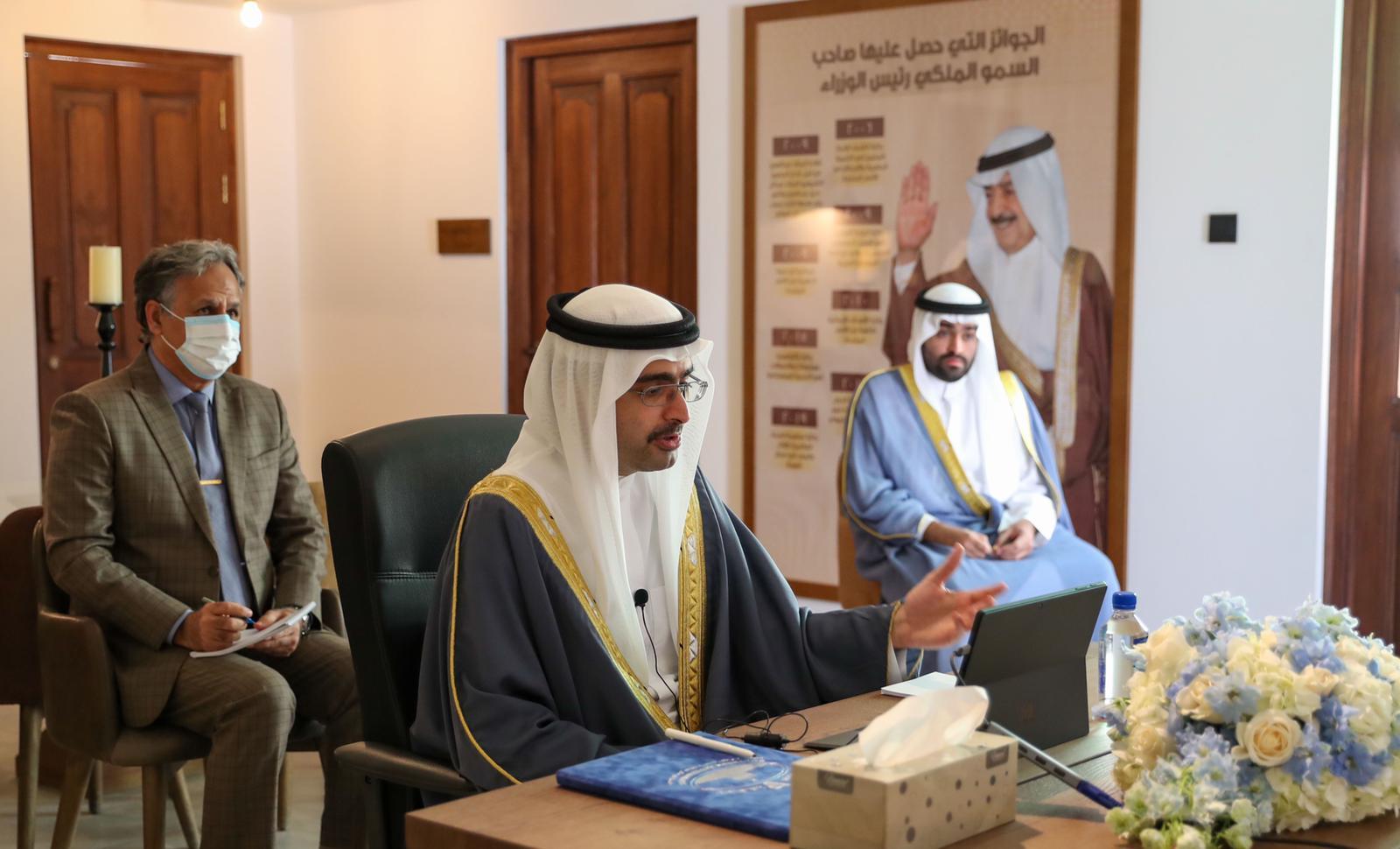 محافظ المحافظة الجنوبية يقوم بزيارة ميدانية لمدينة خليفة
